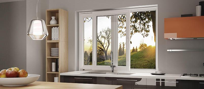 Optimisation de l'espace <p>Petite surface, grande fenêtre, le menuisier d'Oknoplast suggère d'incorporer des portes vitrées coulissantes même dans les petites surfaces. Le but: transparence et lumière.</p> <p>Les dimensions de cette…</p>