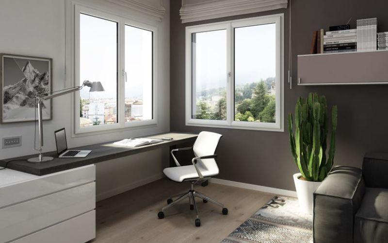 Du blanc pour un logement sobre et classique